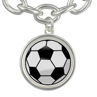 Pulsera con dije de Soccerball