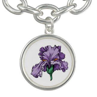 Pulsera con dije del iris