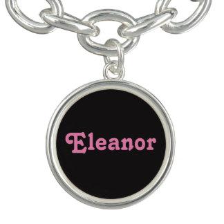 Pulsera con dije Eleanor