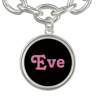 Pulsera con dije Eve