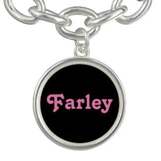 Pulsera con dije Farley