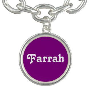 Pulsera con dije Farrah