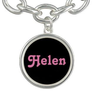 Pulsera con dije Helen