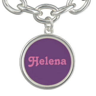 Pulsera con dije Helena