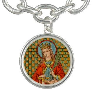 Pulsera Con Dije St. Barbara (JP 01)