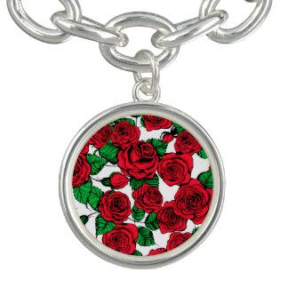 Pulsera Modelo de los rosas rojos
