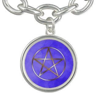 Pulsera oculta de la estrella del Pentagram del