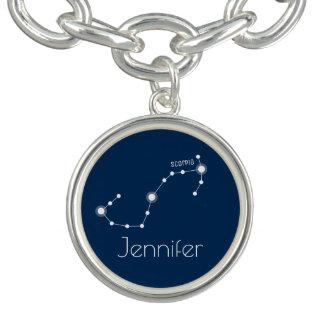 Pulseras Con Dijer Constelación personalizada del zodiaco del