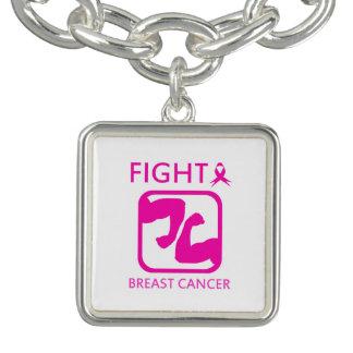 Pulseras Con Dijer Doblar los brazos para luchar el cáncer de pecho