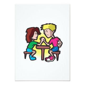 Pulso de los niños invitación 12,7 x 17,8 cm