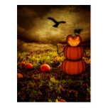 Pumpkinman Tarjetas Postales