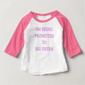 Punk de la promoción de la hermana grande camiseta de bebé