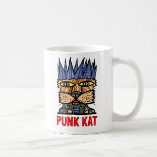 """""""Punk Kat"""" taza de la obra clásica de 11 onzas"""