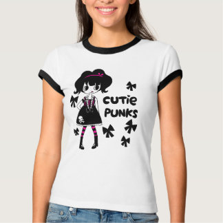 Punks de Cutie: Camiseta del punk de Lolita