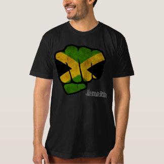 puño de la bandera de Jamaica Camisas