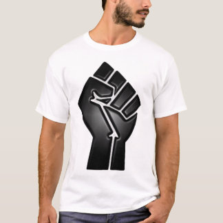 puño del punto de ebullición camiseta