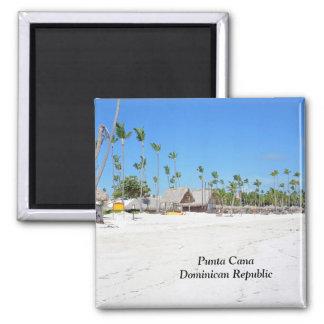 Punta Cana en la República Dominicana Imán Cuadrado