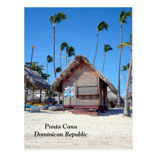 Punta Cana en la República Dominicana Postal