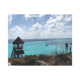 Punta Sur, Isla Mujeres, lona de México Impresión En Lienzo