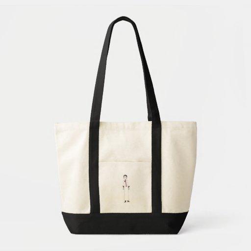 Puntada elegante bolsas