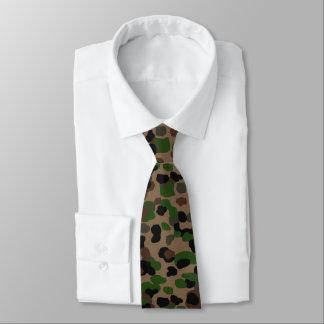 Punto austríaco Camo Corbata Personalizada