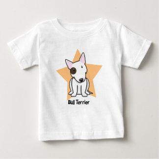 Punto bull terrier del ojo de la estrella de camiseta
