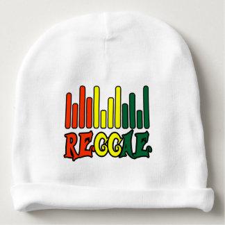 punto de la bandera de la pintada del reggae del gorrito para bebe
