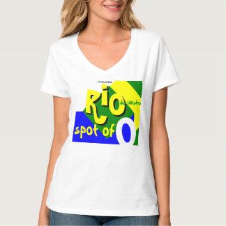 """""""Punto de Río """" Camisetas"""