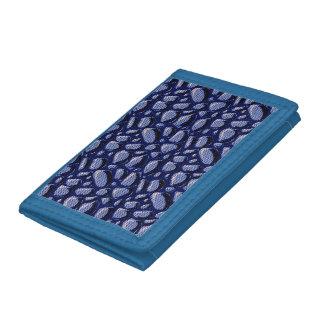 punto de semitono azul de piedra agrietado
