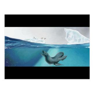 Punto de vista ártico postal