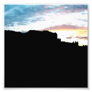 Punto de vista Su de las montañas de la sal del La Fotografías