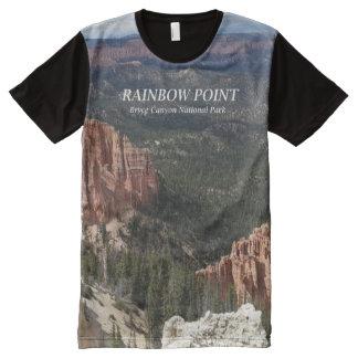 Punto del arco iris - camiseta Shi del parque