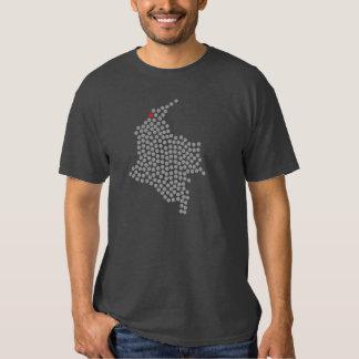 Punto del rojo de Barranquilla Colombia Camiseta