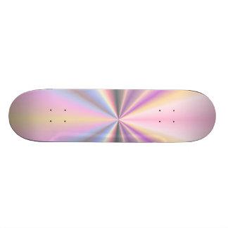 Punto en colores pastel tabla de patinar