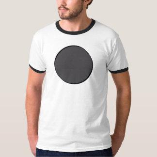 Punto gris oscuro camiseta