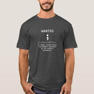 Punto y coma querido - la camiseta del programador