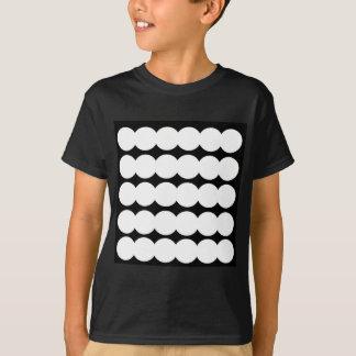 Puntos blancos de Ethno BLANCOS Y NEGROS. Diseño Camiseta