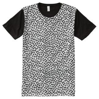 Puntos de la tinta - blancos/negro/Andrea Lauren Camiseta Con Estampado Integral