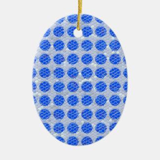 Puntos del mosaico - azul ornamente de reyes