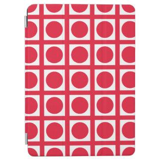 Puntos elegantes de la rejilla del geranio cover de iPad air