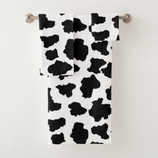Puntos manchados del animal de Holstein del