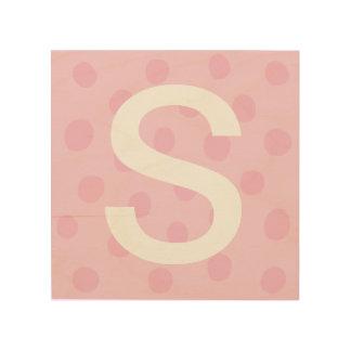 Puntos rosados con la decoración del sitio de los