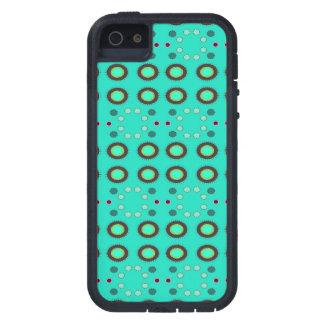 Puntos verdes de Seafoam de la diversión iPhone 5 Fundas