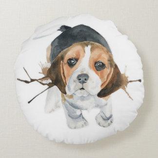 Puppy Love Beagle cojín