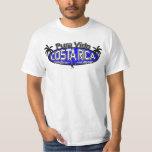Pura Vida Costa Rica - óvalo del mono - azul Camisetas
