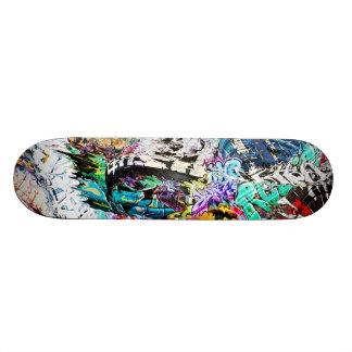 Puré de la pintada tabla de patinar
