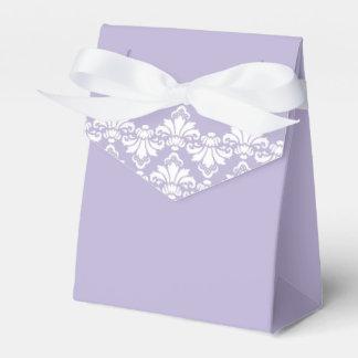 Púrpura antigua de la lila de la caja del favor