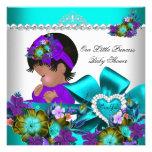 Púrpura azul 3 del trullo del chica de la princesa anuncio