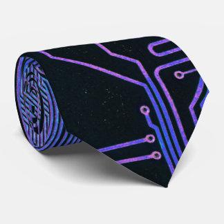 Púrpura azul fresca del ordenador de placa de corbata personalizada