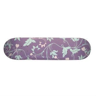 Púrpura bonita y pasteles patin personalizado